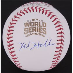 Kyle Hendricks Signed World Series Baseball (MLB Hologram)