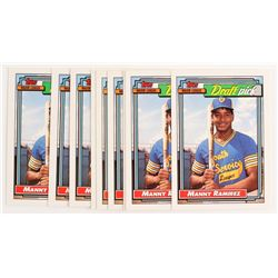 Lot of (10) 1992 Topps #156 Manny Ramirez RC