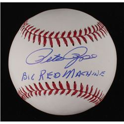 "Pete Rose Signed OML Baseball Inscribed ""Big Red Machine"" (JSA COA)"