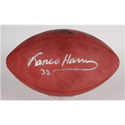 Franco Harris Signed Super Bowl IX Official NFL Game Ball (JSA COA)