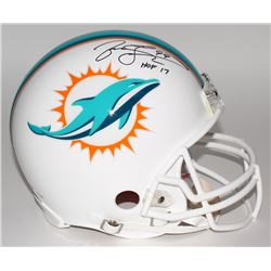 "Jason Taylor Signed LE Dolphins Full-Size Authentic Pro-Line Helmet Inscribed ""HOF 17"" (Steiner COA)"