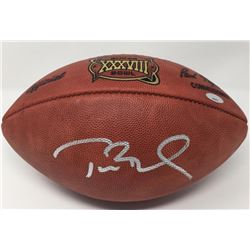 Tom Brady Signed Super Bowl Super Bowl XXXVIII Official NFL Game Ball (TriStar)
