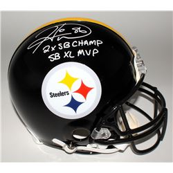 "Hines Ward Signed Steelers Full-Size Authentic Helmet Inscribed ""2x SB Champ""  ""SB XL MVP"" (JSA COA)"