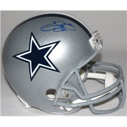 Emmitt Smith Signed Cowboys Full-Size Helmet (Schwartz COA)
