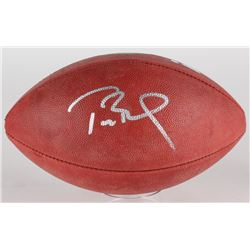 "Tom Brady Signed ""The Duke"" Official NFL Game Ball (Tristar Hologram  Steiner COA)"