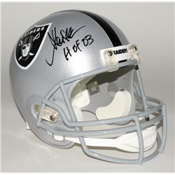 "Marcus Allen Signed Raiders Full-Size Helmet Inscribed ""HOF 03"" (JSA COA)"
