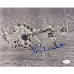 Gino Marchetti Signed Colts 8x10 Photo (JSA COA)