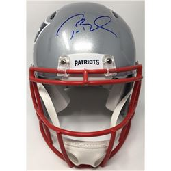 "Tom Brady Signed Patriots ""Super Bowl LI"" Full-Size Authentic Pro-Line Speed Helmet (TriStar)"