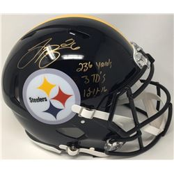 "Le'Veon Bell Signed LE Steelers Full-Size Authentic Pro-Line Speed Helmet Inscribed ""236 Yards 3 TD'"