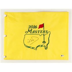 Ian Woosnam Signed 2016 Masters Golf Pin Flag (Beckett COA)