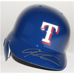 Josh Hamilton Signed Rangers Full-Size Batting Helmet (MLB Hologram)