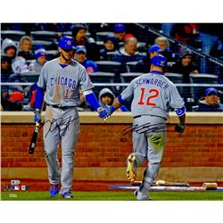 Kris Bryant  Kyle Schwarber Signed Cubs 16x20 Photo (MLB  Fanatics)