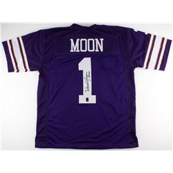 "Warren Moon Signed Vikings Jersey Inscribed ""HOF 06"" (Moon Hologram)"