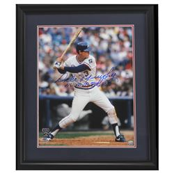 "Dale Murphy Signed Braves 23"" x 27"" Custom Framed Photo Display Inscribed ""NL MVP 82, 83""  (Radtke C"