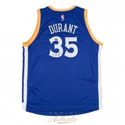 Kevin Durant Signed Warriors Authentic Swingman Jersey (Panini COA)