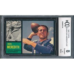 1962 Topps #39 Don Meredith (BCCG 8)
