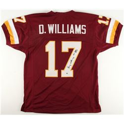 "Doug Williams Signed Redskins Jersey Inscribed ""SB XXII MVP"" (Radtke COA)"