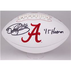 "Derrick Henry Signed Alabama Crimson Tide Logo Football Inscribed ""'15 Heisman"" (Radtke COA)"