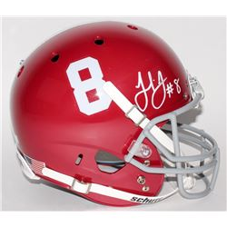 Julio Jones Signed Alabama Crimson Tide Full-Size Helmet (Radtke Hologram)