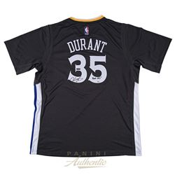 """Kevin Durant Signed Warriors LE Authentic Swingman Jersey Inscribed """"Finals MVP"""" (Panini COA)"""