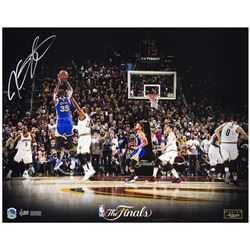 "Kevin Durant Signed Warriors ""Finals MVP"" LE 16x20 Photo (Panini COA)"