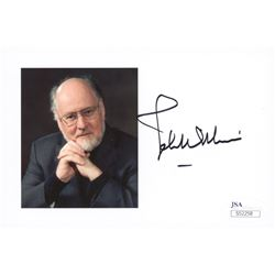 John Williams Signed 4x6 Photo (JSA COA)