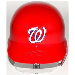 Trea Turner Signed MLB Nationals Authentic Full-Size Batting Helmet (MLB Hologram)