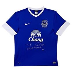 "Landon Donovan Signed Everton Nike Jersey Inscribed ""USA"" (UDA COA)"