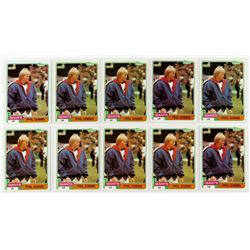 Lot of (10) 1981 Topps #55 Phil Simms
