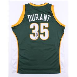 Kevin Durant Signed Sonics Authentic Adidas Jersey (Panini COA)