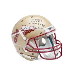 "Jameis Winston Signed LE Florida State Seminoles Full-Size Helmet Inscribed ""At FSU We Do It Big"" (U"