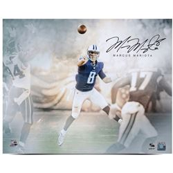 "Marcus Mariota Signed Titans ""Rising Star"" 16x20 Photo (UDA COA)"