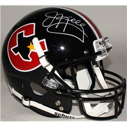 Jim Kelly Signed Gamblers Full-Size Helmet (JSA COA)