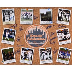 "Mets ""Amazin' Celebrations"" 16x20 Photo Signed by (14) with Bud Harrelson, Wally Backman, Ed Hearn,"