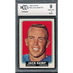 1964 Topps #30 Jack Kemp SP (BCCG 9)