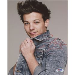 Louis Tomlinson signed 8x10 Photo (PSA COA)