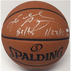 "Kobe Bryant Signed LE NBA Game Ball Series Basketball Inscribed ""81 Pts 11/27/06"" (Panini COA)"