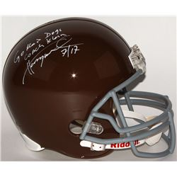 "Henry Winkler Signed Full-Size Helmet Inscribed ""Coach Klein""  ""Go Mud Dogs"" (Schwartz COA)"