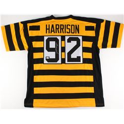 James Harrison Signed Steelers Throwback Jersey (JSA COA)