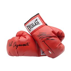 "Mike Tyson Signed Pair of Limited Edition Everlast Boxing Gloves Inscribed ""Kid Dynamite"" (UDA)"
