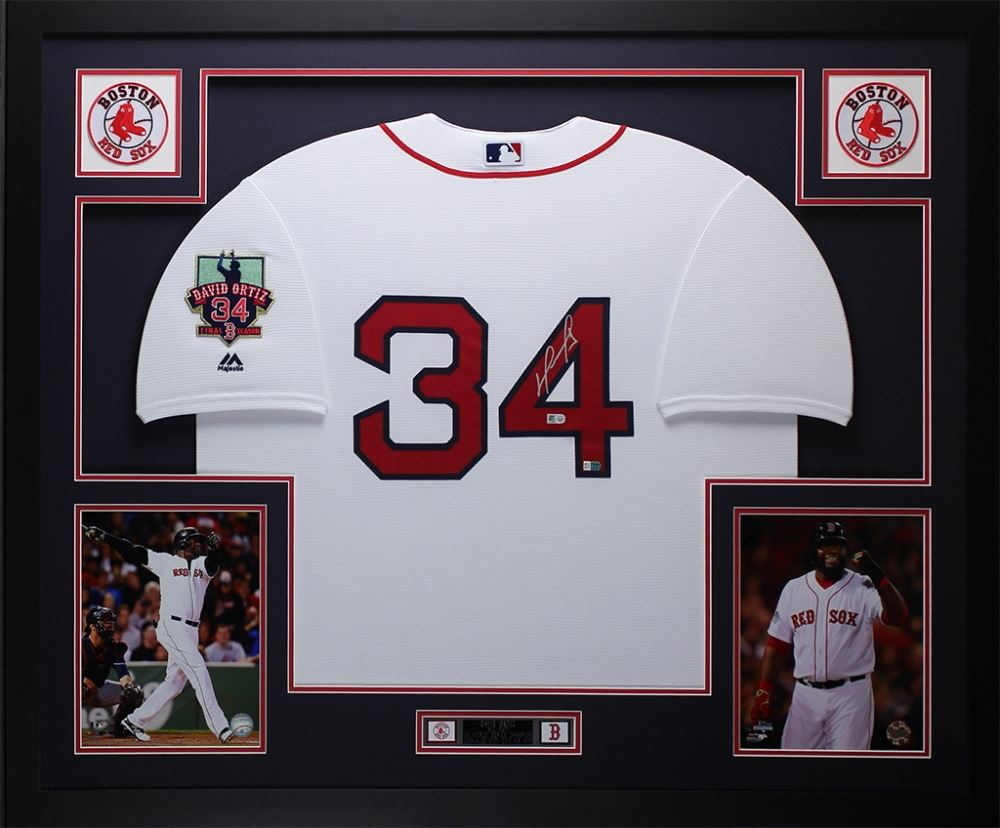 Image 1   David Ortiz Signed Red Sox 35