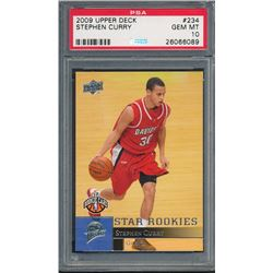 2009-10 Upper Deck #234 Stephen Curry SP RC (PSA 10)