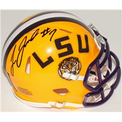 Leonard Fournette Signed LSU Tigers Speed Mini-Helmet (Panini COA)