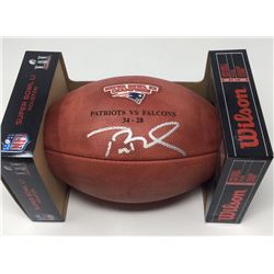 "Tom Brady Signed Super Bowl 51 Official NFL ""The Duke"" Game Ball (Tristar Hologram)"
