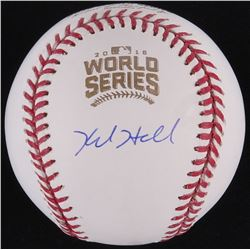 Kyle Hendricks Signed Official 2016 World Series Baseball (Fanatics Hologram  MLB Hologram)
