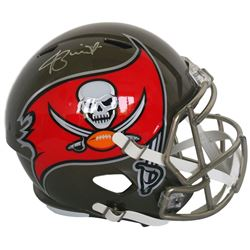 Jameis Winston Signed Buccaneers Full Size Speed Helmet (JSA COA  Winston Hologram)