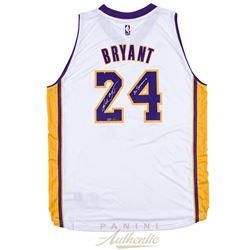 "Kobe Bryant Signed Adidas Lakers Jersey Inscribed ""20 Seasons"" (Panini COA)"