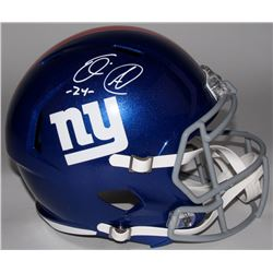 Eli Apple Signed Giants Full-Size Speed Helmet (Radtke COA)