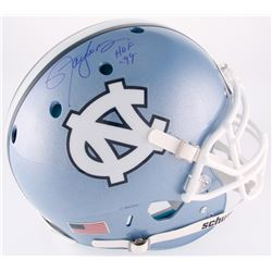 "Lawrence Taylor Signed North Carolina Tar Heels Full-Size Authentic On-Field Helmet Inscribed ""HOF 9"