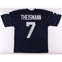 "Joe Theismann Signed Notre Dame Fighting Irish Jersey Inscribed ""CHOF 2003"" (Radtke Hologram)"